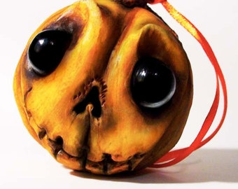 Halloween Pumpkin Ornament - Halloween Decoration