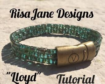 "RisaJane Designs Tutorial ""Lloyd"""