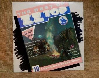 ZZ TOP - The Best of ZZ Top - 1977 Vintage Vinyl Record Album