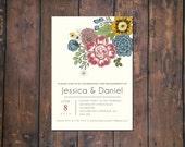 Wedding Flower Announcement