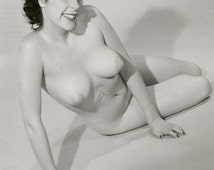 Vintage 1950's pretty nude pinup woman DIGITAL DOWNLOAD