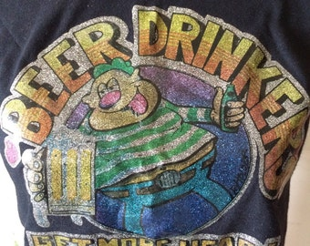 BEER! Awesome muscle t-shirt!