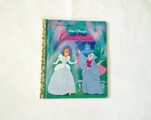 Little Golden Book Disneys Cinerella / Vintage Disney / Disney Princess