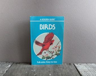 Vintage 1987 Pocket Guide Book of Birds / Bird Identification Book / Bird Field Guide Book
