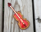 Christmas Ornament Violin Ornament Musical Instrument