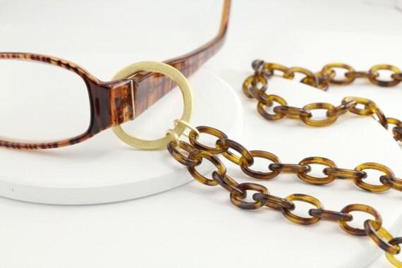 lanyard tortoise shell eyeglass chain tortoise by maetri