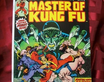 Master Of Kung Fu No 15 Special Marvel Edition The Hands Of Shang-Chi First Appearance Martial Arts Adventure Fantasy Comics Jim Starlin Ar