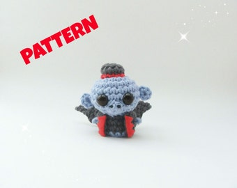 Wizard of Oz Flying Monkey Pattern / Crochet Animal Pattern / Amigurumi Animal Pattern / Crochet Doll Pattern / Christmas Pattern / Kids Toy