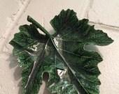 Vintage Green Leaf