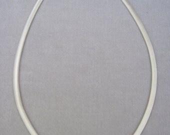 "Fantastic 6mm Flattened Silver Snake Chain 18"" Long"