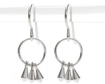 3 kite earrings