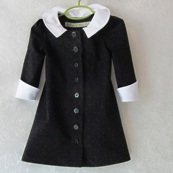 Toddler Girl's Wednesday Addams Little Black by ...