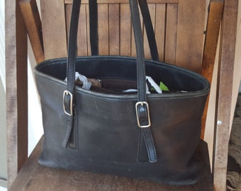 BRING    ///      Leather COACH Tote