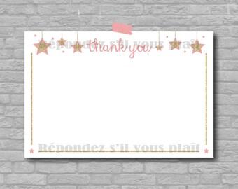 Twinkle Twinkle Little Star - Thank You