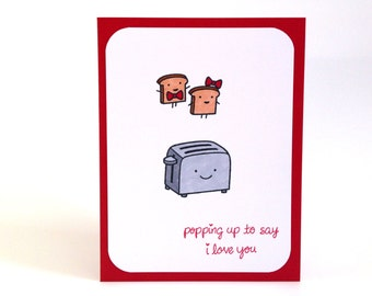 Boyfriend Birthday Card - Anniversary Card for Him - Funny Love Card - Pun Card - I Love You - Long Distance Card - Valentine's Day Card