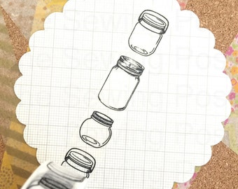 Washi Tape: Mason Jar
