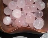 Wholesale Rose Quartz Gemstone sphere Metaphysical New Age Reiki Crystal Lapidary Healing Handmade Chakra Genuine Untreated Stone Balls