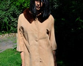Vintage Tan Suede Coat