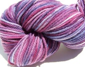 Hand Dyed yarn,Worsted Weight 100% American Targhee Yarn, 250 yards, 100 grams, 3 ply, Kettle Dyed