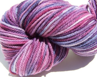 Worsted Weight 100% American Targhee Yarn, 228 yards, 100 grams, 3 ply, Kettle Dyed