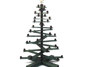 Jesse Tree Christmas ornament display tree