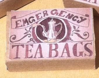 EMERGENCY TEA - Set of 3