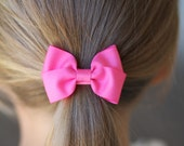 set of 5 buterfly bow hair ties