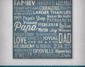 ANY COLOR Any Text Personalized - CUSTOM - Made to Order  Ready-toHang  - Canvas Wall Art Bus Scroll Sign Poster Quote Subway