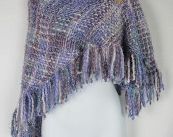 Knit and unique shawl