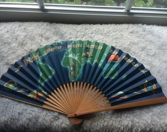 Vintage BOAC Fan