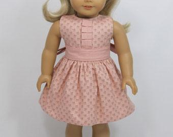 SALE - American Girl Doll Summer dress and headband