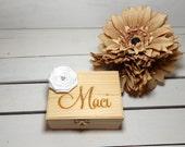 Personalized Ring Box, I do, Ring Bearer Box,BridesMaid Gift, Personalized Ring Box, Personalized Gift, Christmas Gift, Wedding Favor