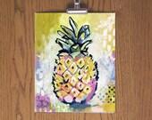 Pineapple - Day 67 Art Print