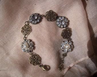 Bracelet - Featuring Vintage Buttons