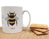 Bee chart - Ceramic mug