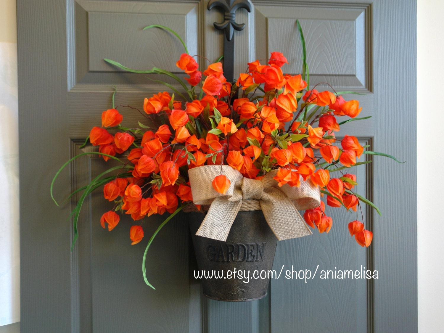 Fall wreaths autumn front door wreaths chinese by aniamelisa Fall autumn door wreaths