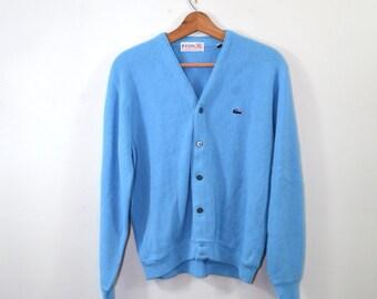 Cardigan Sweater Blue Sweater Izod Sweater Blue Cardigan Sweater Blue Izod Sweater Men's Cardigan Sweater Size Medium