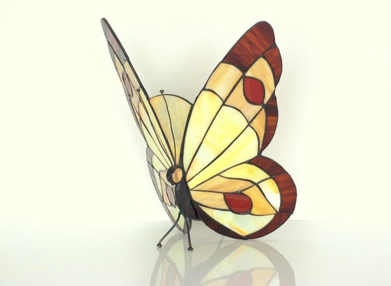 lamp stained glass wall sconce stained glass hanging butterfly lamp. Black Bedroom Furniture Sets. Home Design Ideas