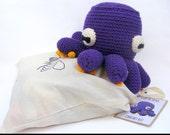 Crochet Octopus Kit // DIY Craft Kit // All Natural Option