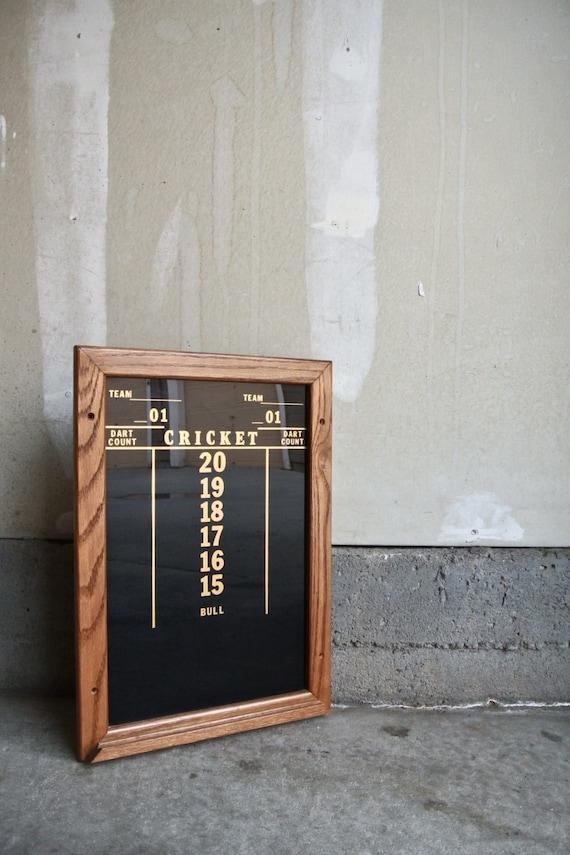 Vintage Cricket Scoreboard Cricket Darts Vintage Sports