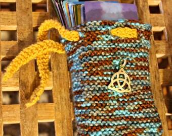 Tarot Card Drawstring Bag