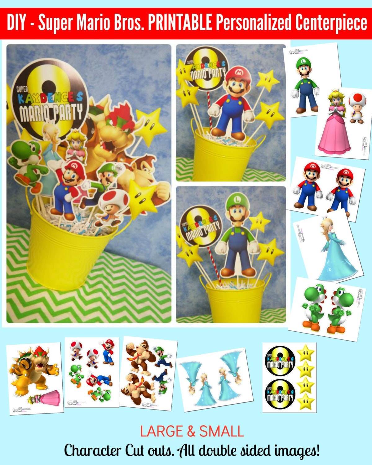 It's just a photo of Remarkable Super Mario Party Printables