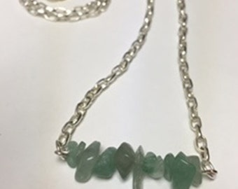 Simple and Elegant Aventurine Necklace