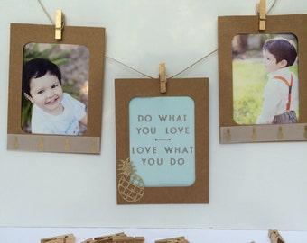 Decorative Photo Frame Cards - set of 3