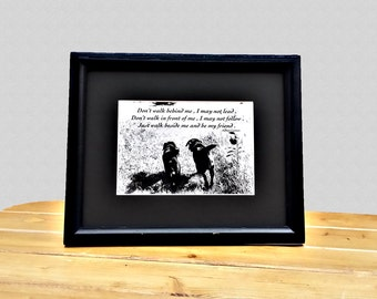 Black Labrador Quote Art - Quote Print - Black Lab Art - Black Labrador Retriever Art - Quote Art - Dog Lover Gift