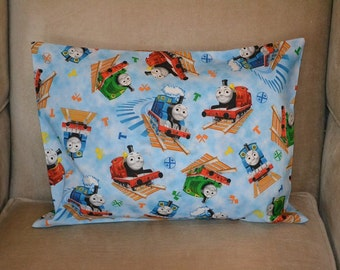 Travel Pillow Case / Child Pillow Case THOMAS THE TRAIN and Friends