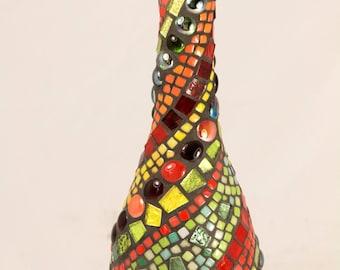 decoratieve vaas mosaic vase
