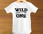 Wild One Baby Bodysuit or Toddler Shirt