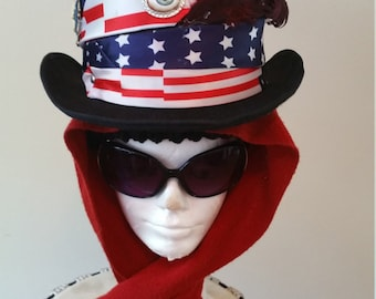 4th of July Top Hat