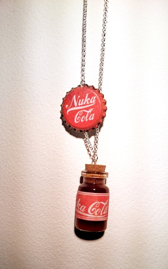 items similar to fallout inspired necklace on etsy